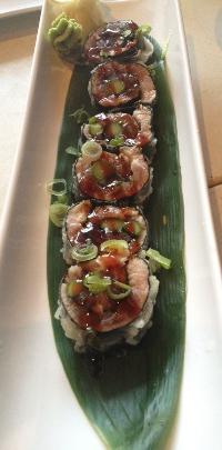 Seared tuna tartare